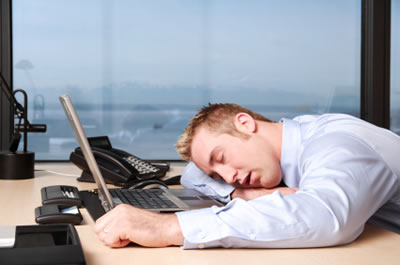 Have you ever fallen asleep at work?
