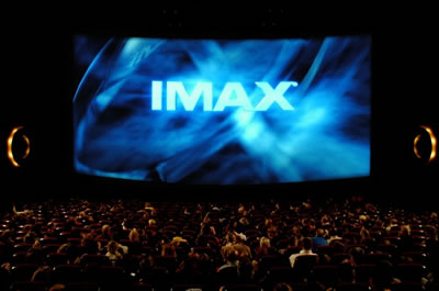 the IMAX cinema