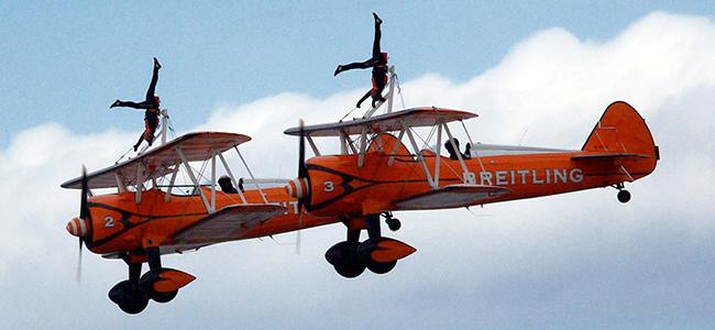 Aerobatics Team Building Event