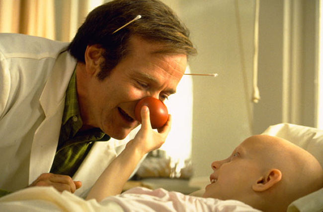 Patch Adams laughter