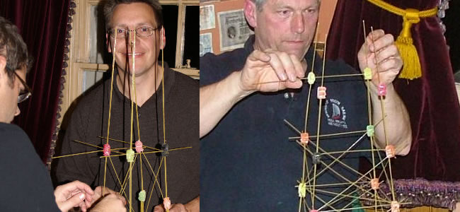 Spaghetti Tower Team Building Task