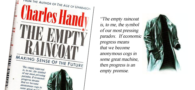 The Empty Raincoat by Charles Handy