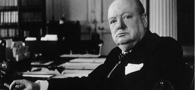 Sir Winston Churchill photo