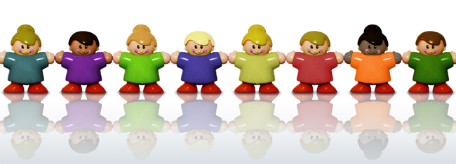 lego people holding hands